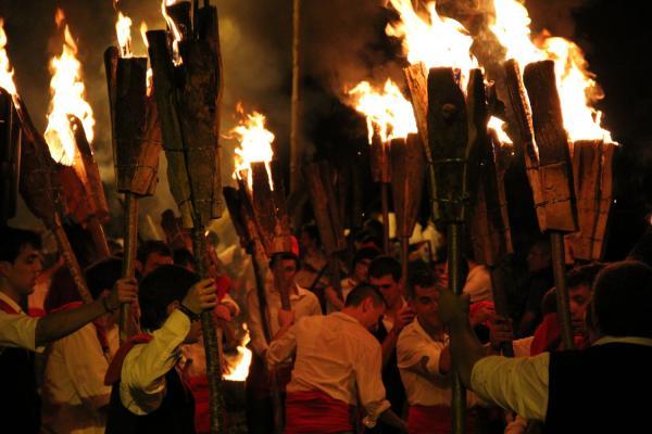 Camí de foc, Taüll imatge