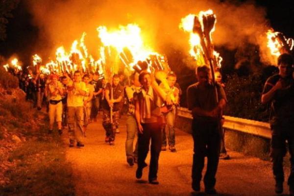 Camí de foc, Vilaller imatge