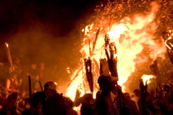 Camí de foc, Erill la Vall imatge