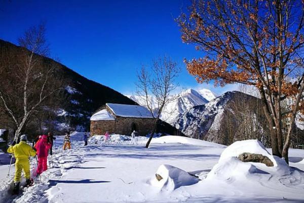 Raquettes de neige imatge